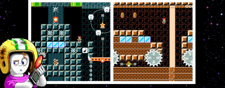Bonus: Tom Hall's Commander Keen levels in Super Mario Maker